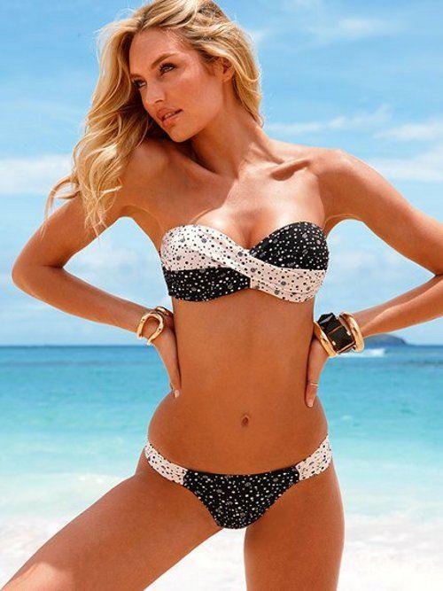 MODA Y  ACCESORIOS  PERFECTOS  A  LA ÚLTIMA  Bikini-blanco-y-negro