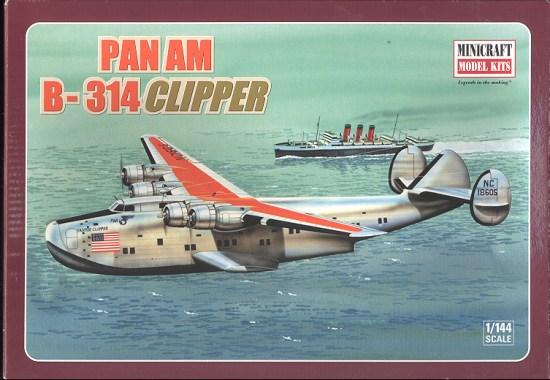 "Boeing 314 ""Dixie Clipper"" 1939-1950 (/1/144 Minicraft) 314bt"