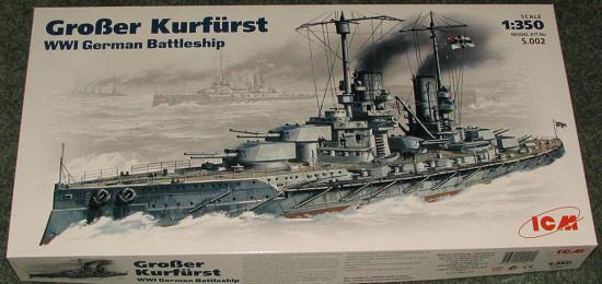 Grosser Kurfürst ICM au 1/350 plus WEM photodécoupe S002bt