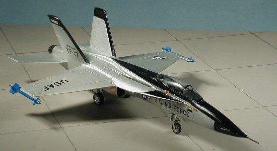 YF-16 V.s. YF-17 Yf17h