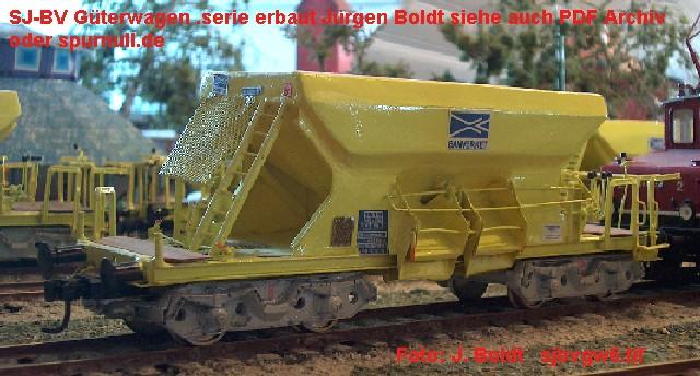 Güterwagen bei der MOB SJBVGW6