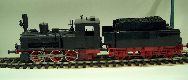 Meine letzte H0-Lok, die VII T und noch zwei Kleine als Zugabe 44db89te