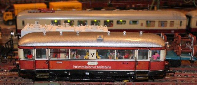 Schienenbus der HZ HZL10