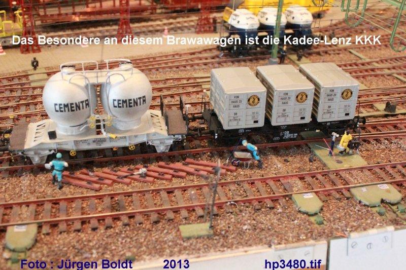 Güterwagen bei der MOB HP3480
