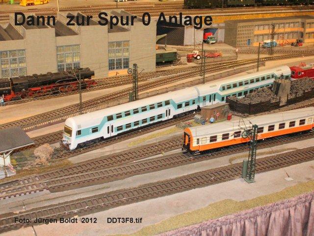 Spur 0 Anlage im Verkehrsmuseum Dresden DDT3F8