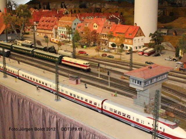 Spur 0 Anlage im Verkehrsmuseum Dresden DDT3F9