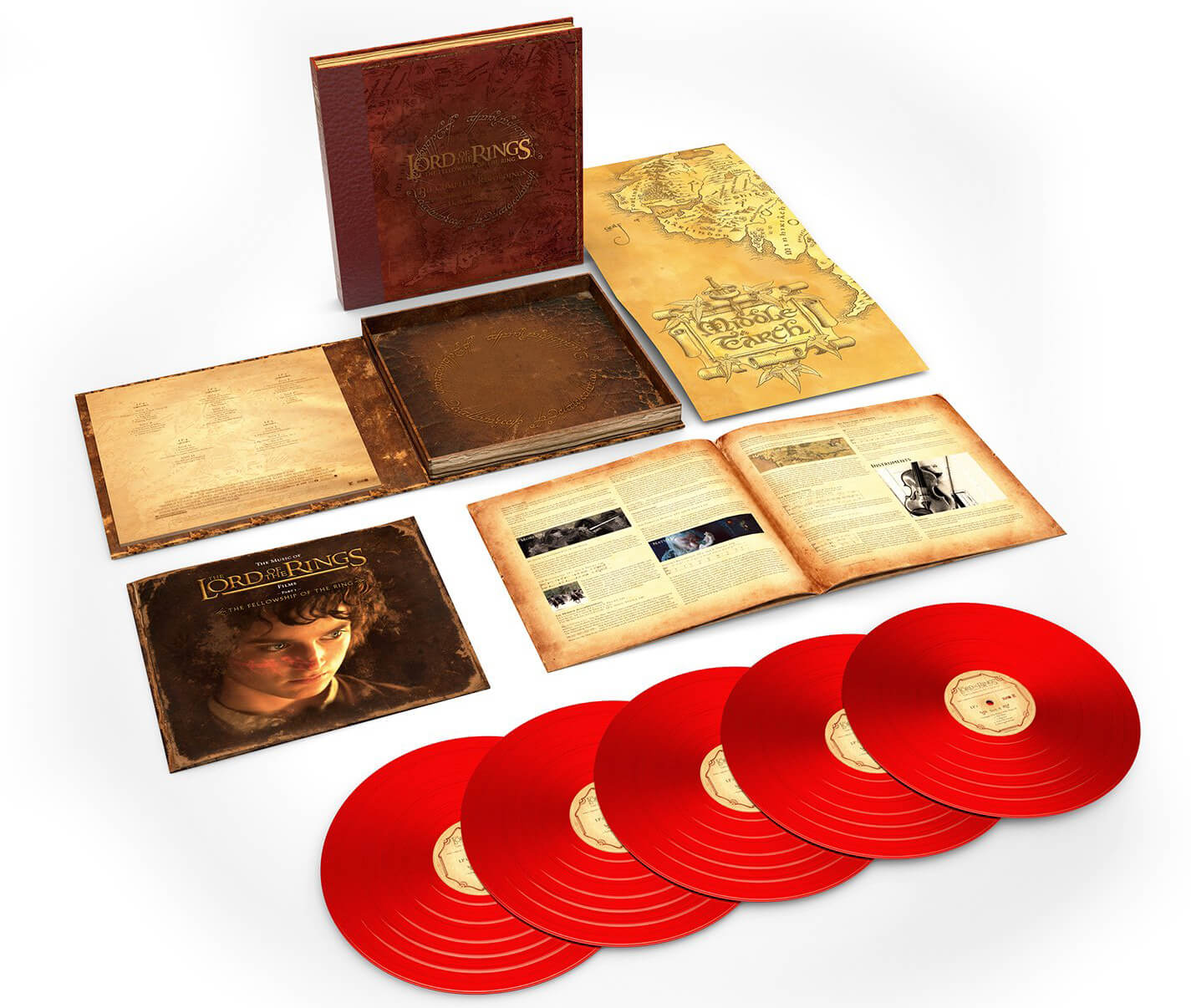 2018 - Vinil - Lord Of The Rings Fellowship Of The Ring 5LP DV7GIxWX4AEKVVW-1-1