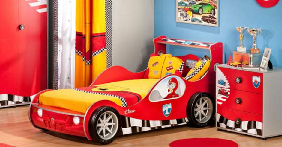 غرف نوم اطفال على شكل سيارة Modern-home-decor-3