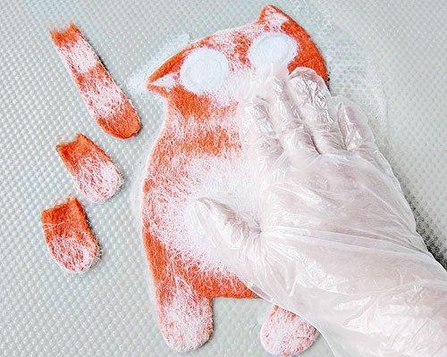Мастер-класс по валянию: чехол для мобильного телефона «Рыжий кот» Redkitty-anisimova-tatyana-13
