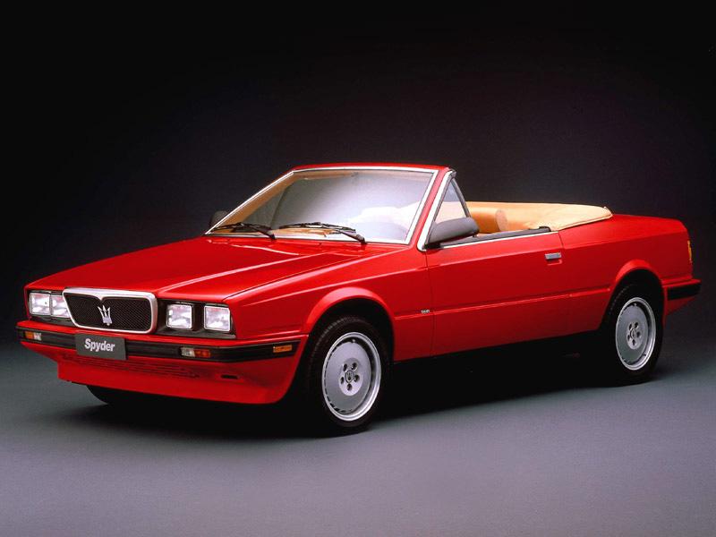 L'andamento del marchio Maserati sul mercato auto nuove - 2017  - Pagina 3 1989-spyder-1