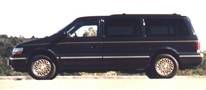 2020 - [Volkswagen] Transporter T6 restylé Chrysler-town-and-country-1992-6