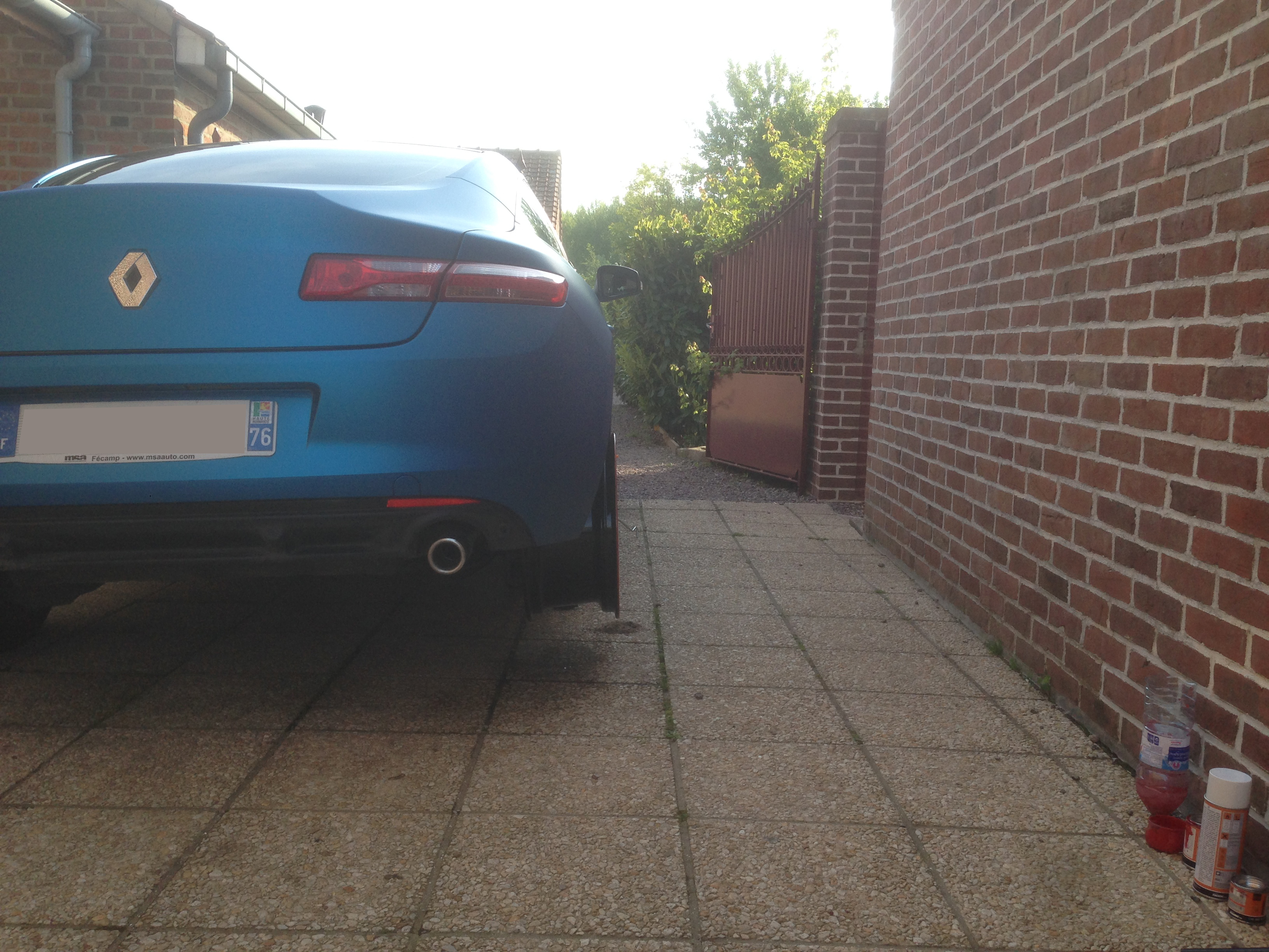 [Momofisher] Laguna III coupé GT 2.0 dCi 180 Bleu mat - Page 2 Jantedeportap
