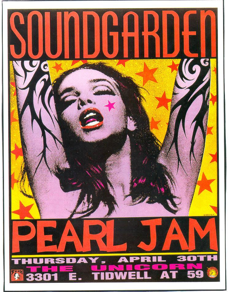 Los posters de los conciertos  - Página 2 Soundgarden-and-pearl-jam