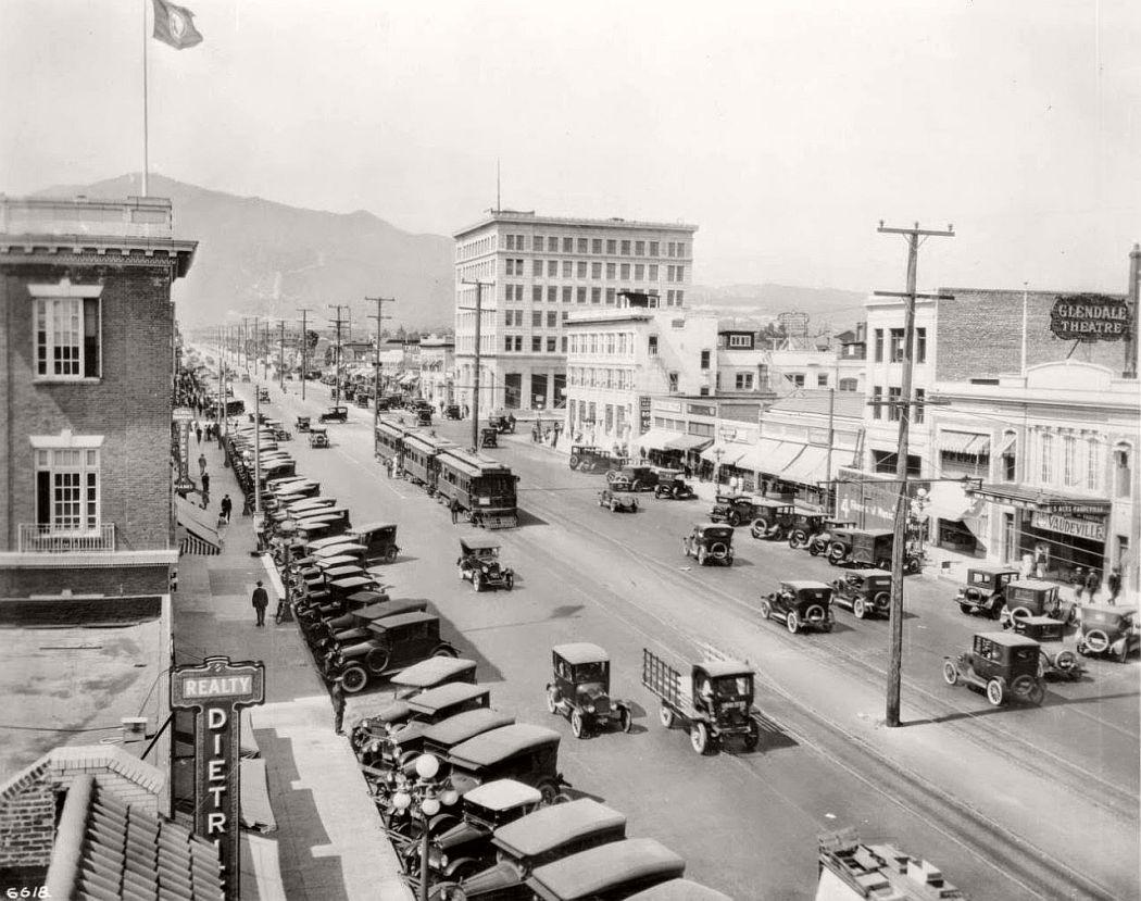 Főut, utak, utcák Southern-california-usa-1920s-vintage-streets-04