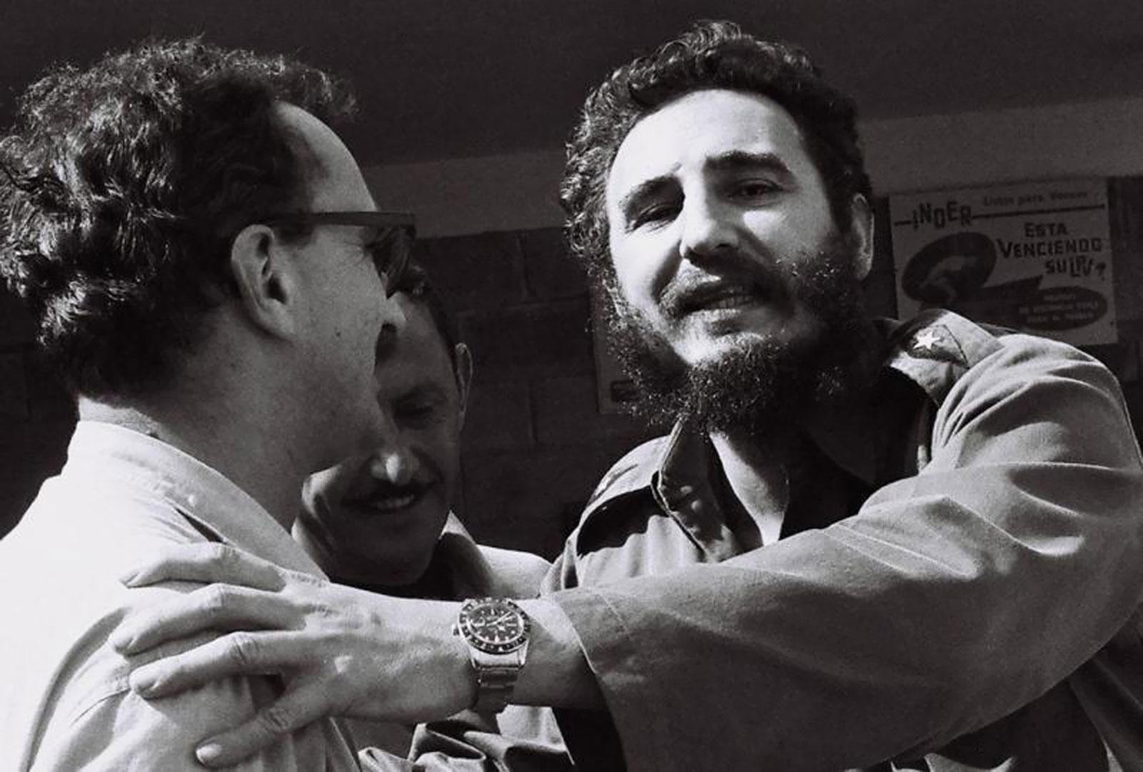 Castro avec 2 Rolex Fidel-Castro-Rolex-GMT-Master-