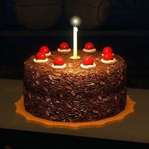 Epic Berfday Thread Portal-cake