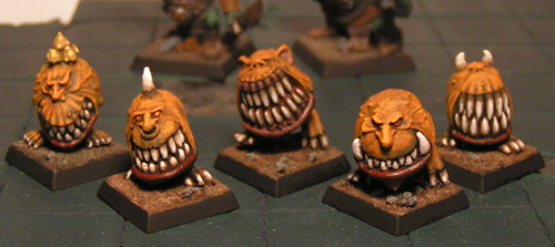 Ashton's First Two Orcs + Squig Squigs01