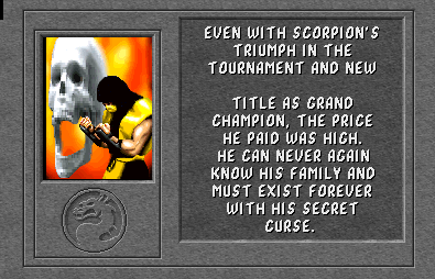 Mortal Kombat I Scorpion2