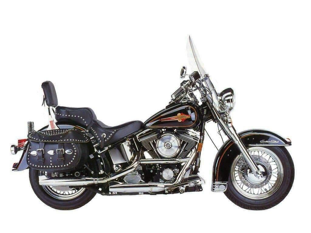 Pots d'échappements Harley-Davidson Softail 1340 Fishtail Harleydavidson-flstc-1340-heritage-softail-classic-1989-14