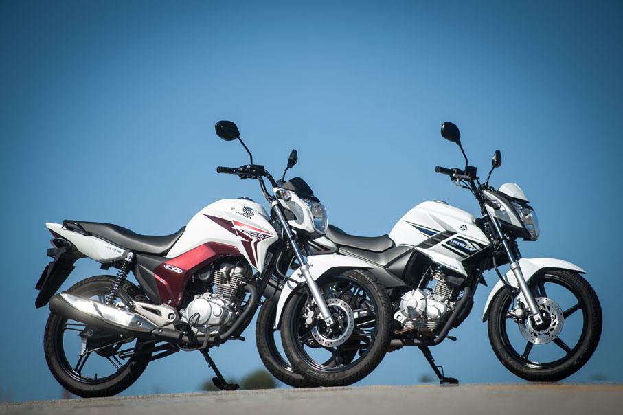 Fazer 150 - Yamaha Yamaha-Fazer-150-x-Honda-CG-Titan-150