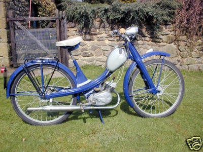 Due to a change in circumstances my bike is for sale 1962-NSU-QUICKLY