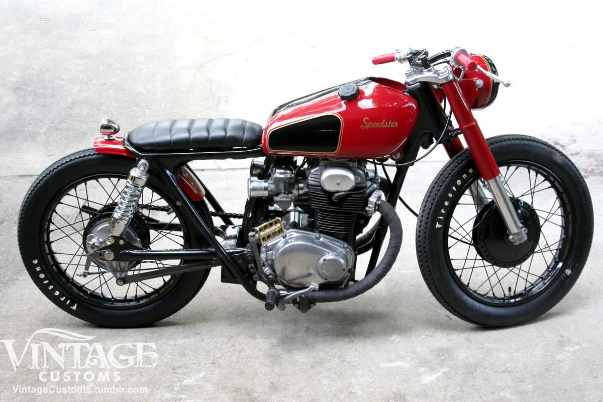 CB 350 The-Speedster-Vintage-Customs