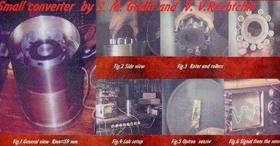 Le générateur et le disque de Searl  Antigravitation Godin01