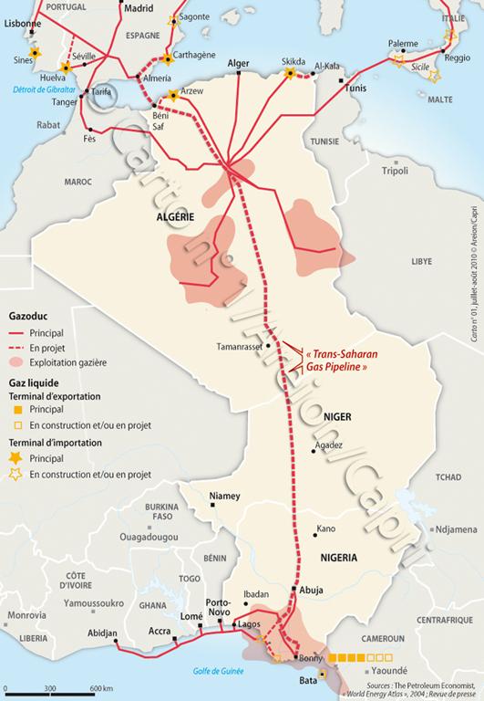 L'intervention militaire française au Mali vise-t-elle à assurer les intérêts d'Areva ? Projet-gazoduc