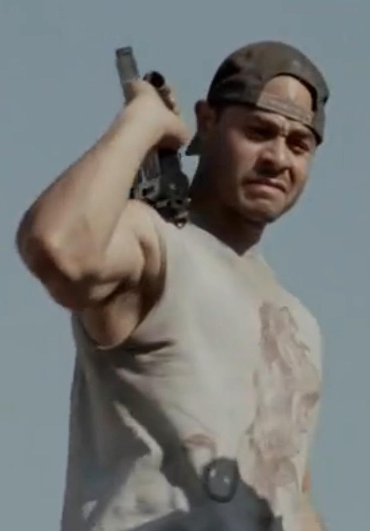 The Walking Dead  Caesar-martinez