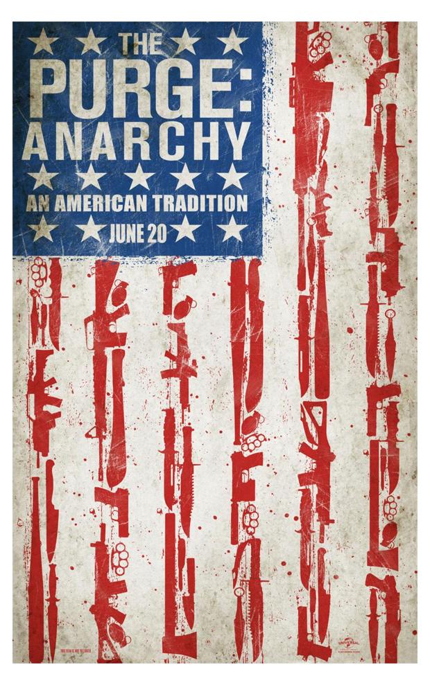 """FILM >> """"Anarchy: La Noche de las Bestias"""" Thepurgeposter"""