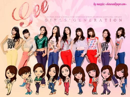 تقرير عن اشهر الفرق الكورية Girls Generation Gee31