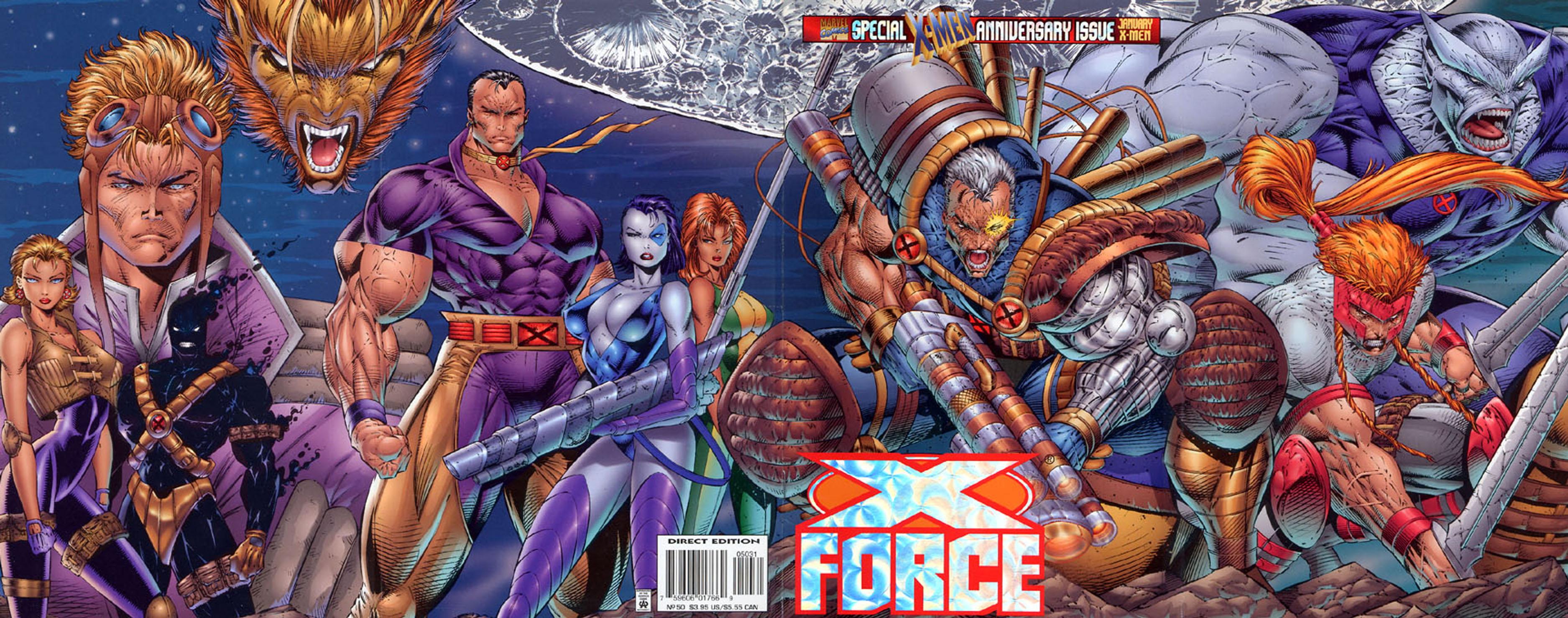 Les comics : films, kiosque, papier... - Page 2 X-force