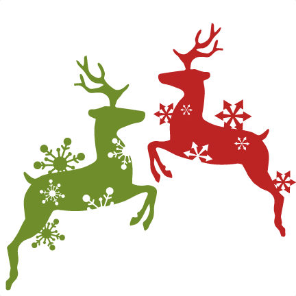 CONCURSO: Christmas in Our Hearts (Drabble) Reindeer-clipart-green-5