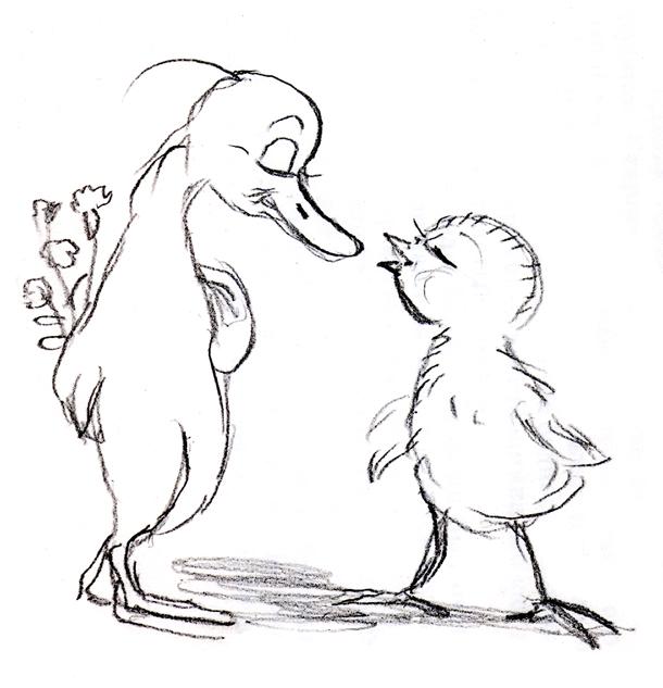 История полувековой любви: «Гусенок скучает по Цыпленку» 06(3)