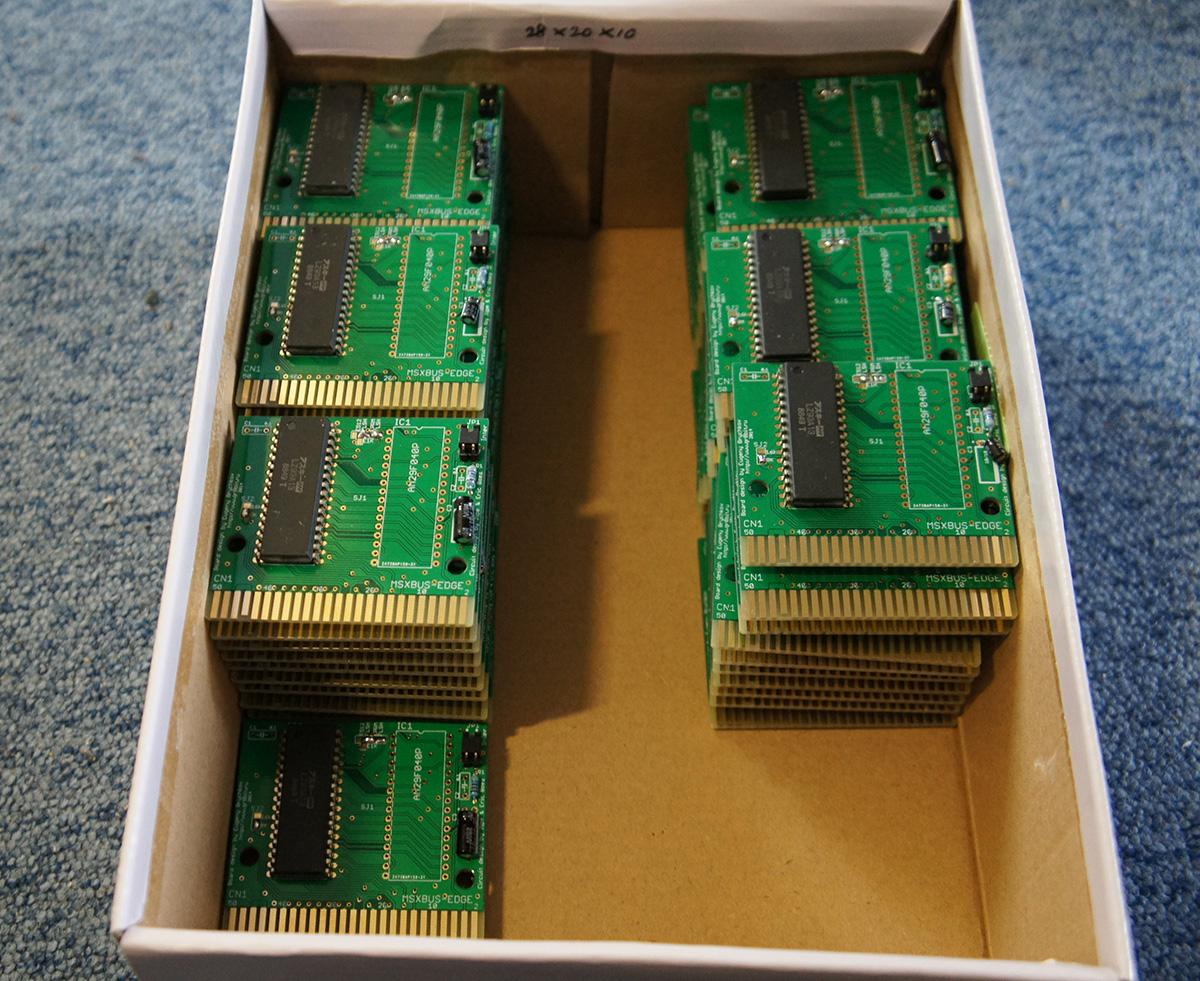 Compilation COLECO pour MSX - edition limitée - Board-stock