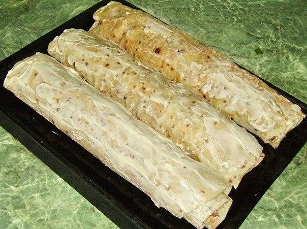 Горячие закуски в лаваше Original