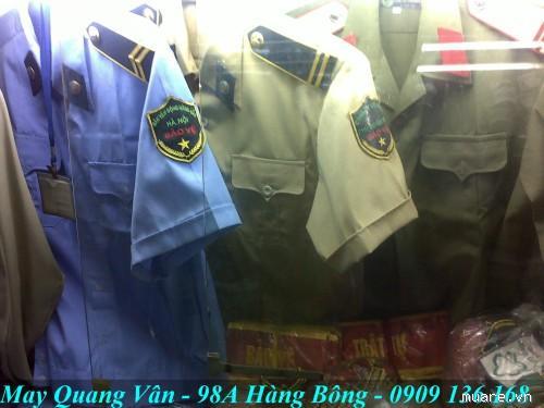 Chuyên may đo và bán đồng phục bảo vệ theo thông tư 08 mới. Cầu vai ve áo, giày mũ cravat bảo vệ các loại Mr_368558_a0c16712f9e0043a