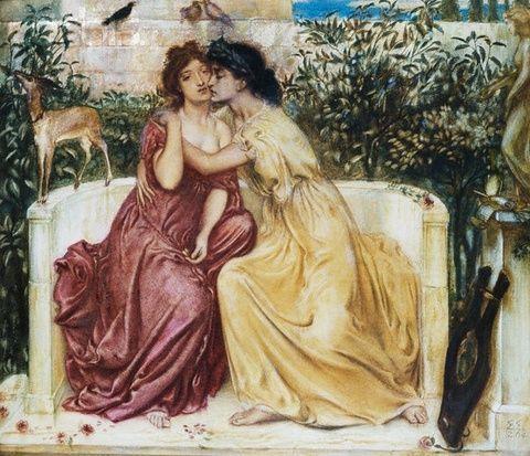 Safo de Lesbos (o de Mitilene); obra poética. Cultura antigua Safo_de_lesbos_07