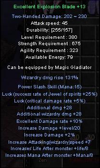 [MuOnline] Items Mu Exe Explosion