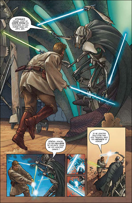 STAR WARS EN BD EPISODES I A VI ET L'INTEGRALE 9782756011394_2