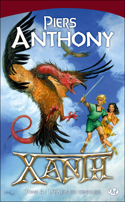 ANTHONY Piers - XANTH - Tome 4 : L'aile du centaure 9782811201531