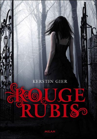rouge - LA TRILOGIE DES GEMMES (Tome 1) ROUGE RUBIS de Kerstin Gier 9782745945471