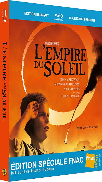 L'Empire du soleil - Blu-Ray - Digibook - Edition Spéciale Fnac 20/06/12 5051889250722
