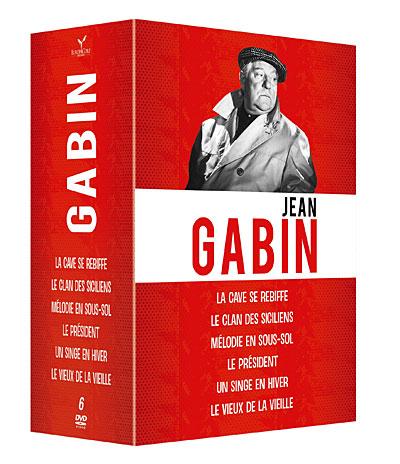 Jean Gabin - Coffret 6 Films 3344428049744