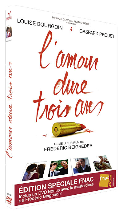 L'amour dure trois ans - Edition Spéciale Fnac 30/05/12 3700724900354