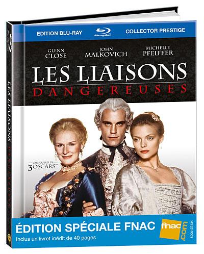 Les liaisons dangereuses - Blu-Ray - Digibook - Edition Spéciale Fnac 20/06/12 5051889247197