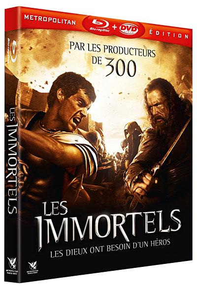 Les Immortels (en deux cd )[bdrip][2011][DF] 5051889246718