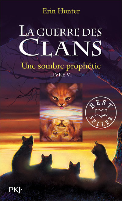 LA GUERRE DES CLANS (Cycle 1 - Tome 6) UNE SOMBRE PROPHETIE de Erin Hunter 9782266208178