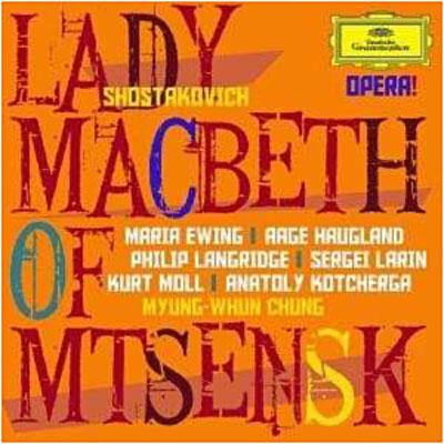 Lady Macbeth de Mzensk Chostakovitch 0028947791188
