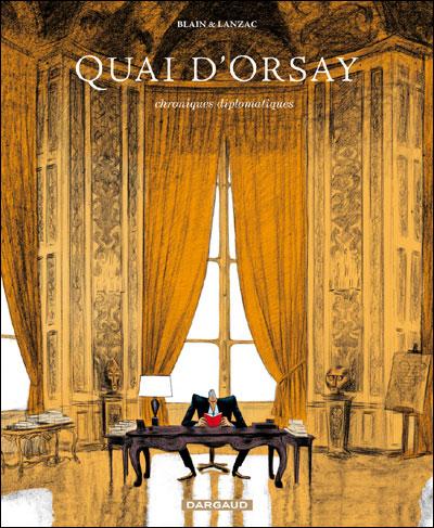 Quai d'Orsay, de Christophe Blain & Abel Lanzac 9782205061321